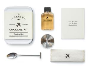 Desejo do Dia: o kit Carry On Cocktail para preparar drinks a qualquer momento