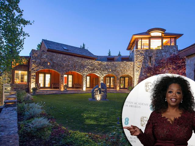 A mansão temporária de Oprah em Telluride: ela pode!