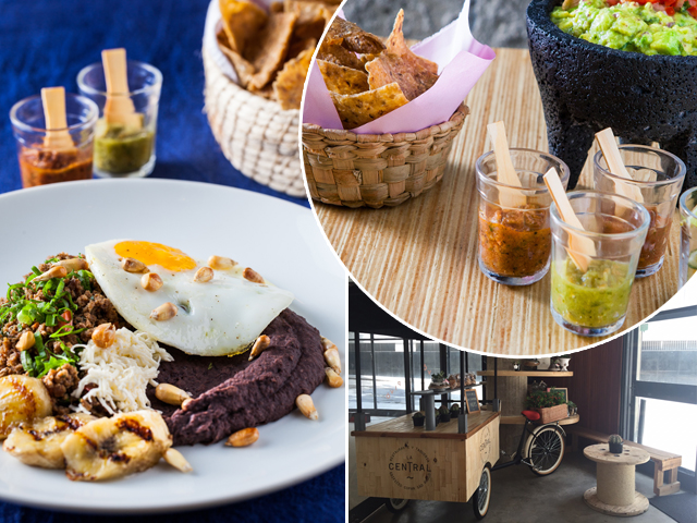 Pratos que serão servidos na festa de um ano do La Central