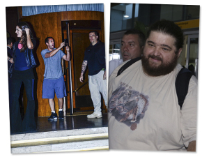 Glamurama entrega os passos de Adam Sandler e Taylor Lautner em São Paulo