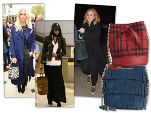 De Naomi Campbell a Adele: a nova bolsa-desejo das celebs