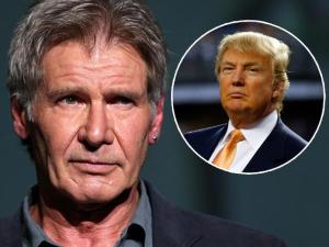 Diretas já: Harrison Ford dá um chega pra lá em Donald Trump