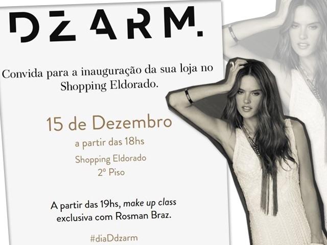 DZARM, inaugura loja do Shopping Eldorado
