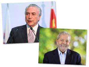 Lula e Temer telefonam para Dilma para dar os parabéns
