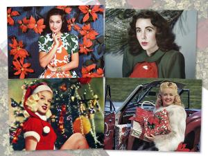 """Confira 25 estrelas """"old Hollywood"""" em clima natalino: puro glamour!"""