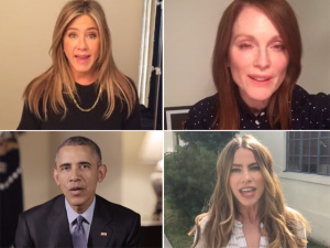 Obama, Jennifer Aniston e mais em vídeo pró-desarmamento. Play!