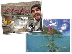 """Caio Castro """"amarradão"""" no Havaí para a última etapa do CT Pipe Masters"""