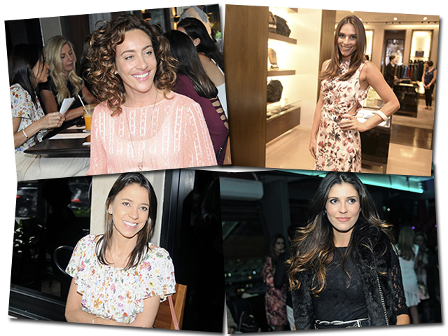 As convidadas do Amigo Secreto Glamurama: Cynthia Benini, Carol Raucci, Litza Genovesi e Manu Carvalho