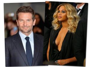 """Bradley Cooper escala Beyoncé para remake de """"Nasce uma Estrela"""""""