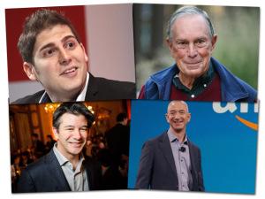 Aqui, os quatro bilionários que aumentaram suas fortunas em 2015