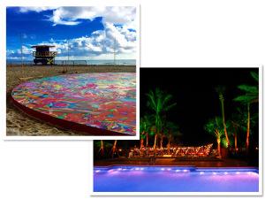Miami Beach ganha pista de patins na areia que é obra de arte