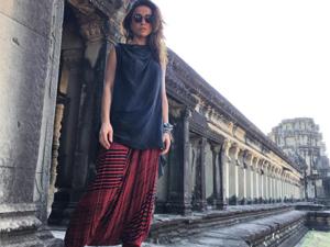 Sabrina Sato foge da agitação e faz tour pela Tailândia. Aos cliques!