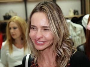 Zazá Piereck oferece almoço para catadores de lixo de cooperativa