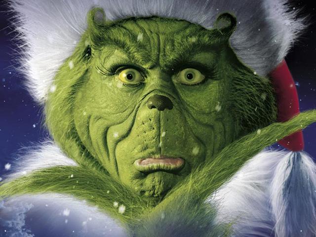 Ninguém entra mais em pânico no Natal do que o Grinch