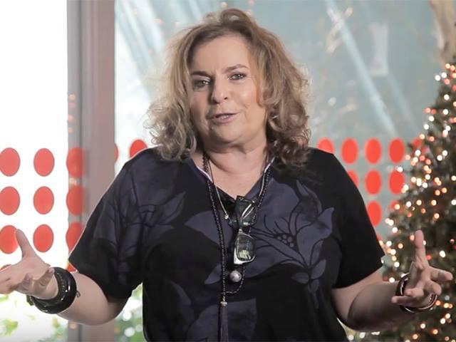 Joyce Pascowitch no Vlog da Joyce
