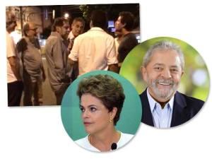 Ao verem vídeo do Glamurama, Dilma e Lula se solidarizam a Chico Buarque