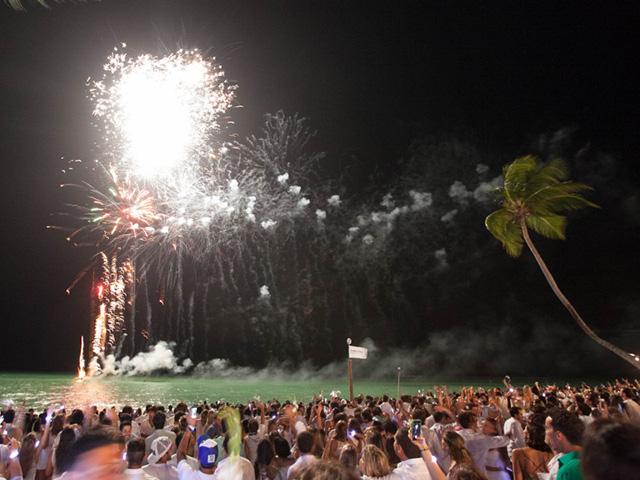 Queima de fogos em Milagres em 2014. Neste ano a festa promete ainda mais!