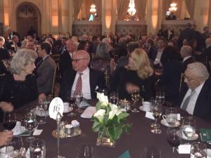Rupert Murdoch com a nova namorada, Jerry Hall, em jantar em NY