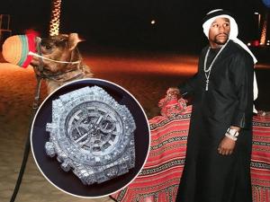 Boxeador Floyd Mayweather ostenta relógio de R$ 4,3 milhões