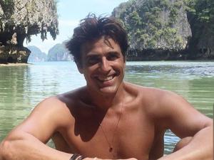Reynaldo Gianecchini curte férias nos paraísos da Tailândia