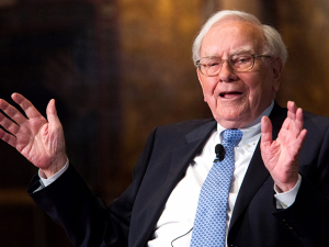 Warren Buffett lidera a lista dos bilionários generosos. Ao ranking!