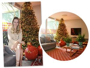 Bárbara Jalles dá toque especial à decoração de Natal da Casa Glamurama