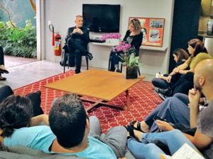 Walter Longo visita a Casa Glamurama e fala sobre a era pós-digital