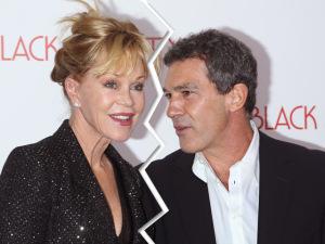 Divórcio de Melanie Griffith e Banderas tem até divisão de lucros dos filmes