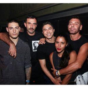 Riccardo Tisci e sua gang fervem em balada gay no Rio