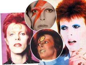 No aniversário de Bowie, 4 momentos em que ele revolucionou o make