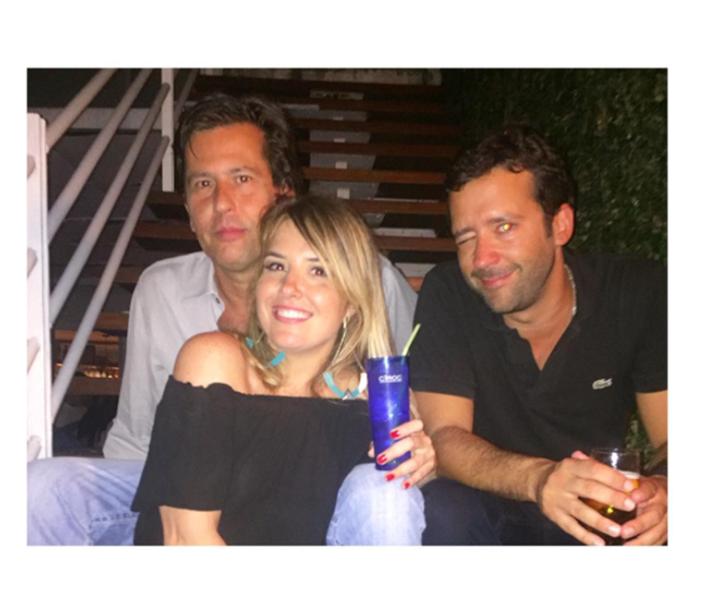 Rick Amaral, Valentina Drummond e Caio Nabuco