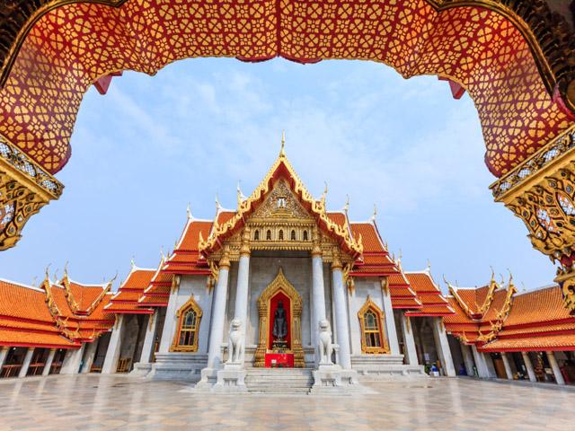 Wat Benchamabophit Dusitvararam (templo de mármore)