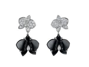 Desejo do Dia: os brincos Caresse D'Orchidées da Cartier
