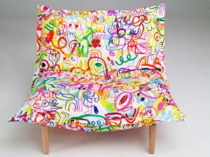 As estampas supercoloridas criadas pelo inglês Jon Burgerman