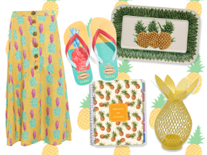 Troféu Abacaxi: uma seleção cool de produtos com a fruta do verão!