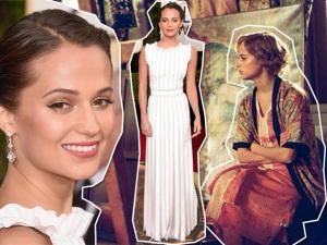 Glamurama Ama: a beleza e o estilo intrigantes de Alicia Vikander