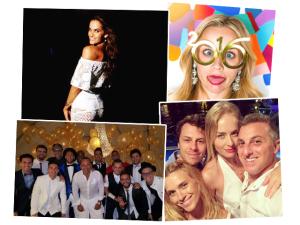 Os cliques e mensagens mil dos famosos na chegada de 2016