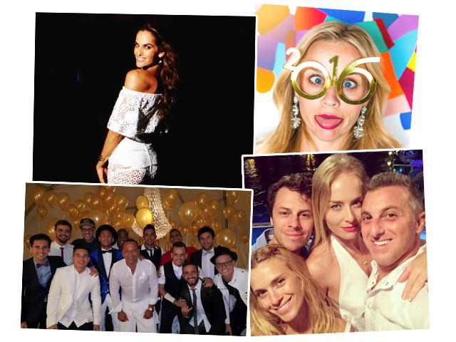 Izabel Goulart, Reese Witherspoon, tiago worcman, Carolina Dieckmann, Angèlica e Luciano Huck e Neymar com a turma do Tóis
