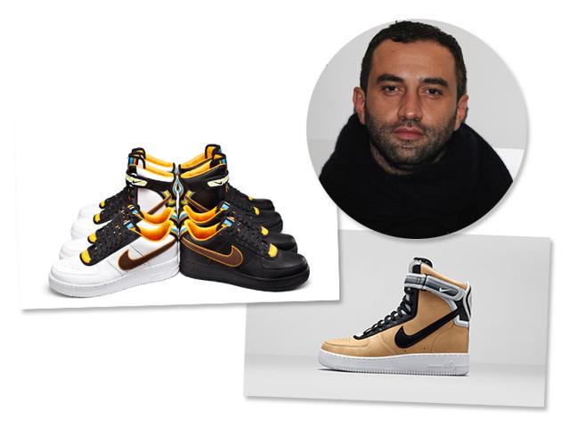 A nova coleção do tênis-desejo Air Force One, da Nike, com Riccardo Tisci é mantida em segredo