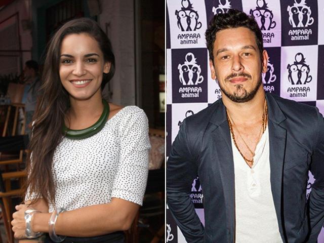 Renata Vanzetto e João Vicente de Castro