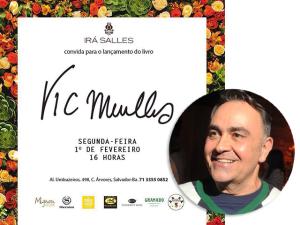 Vic Meirelles aterrissa em Salvador para lançar seu novo livro