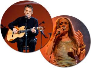 Chico Buarque homenageia Maria Bethânia em show da Mangueira