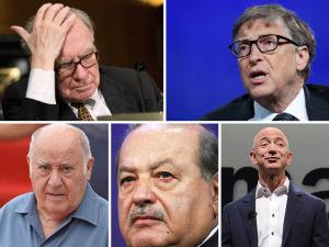 O dia em que os cinco homens mais ricos do mundo perderam bilhões