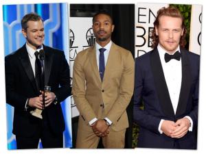 Os homens que brilharam no tapete vermelho do Globo de Ouro