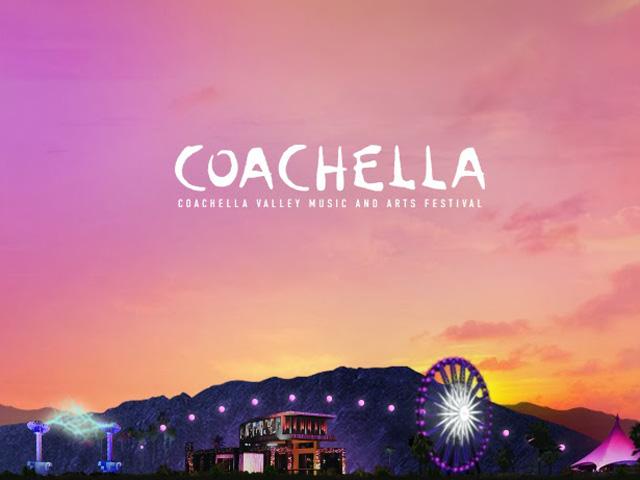 O festival Coachella acontece na California, no Estados Unidos