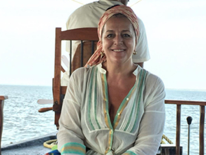 Angela Missoni viaja pela Índia e mostra encantamento com as cores do país