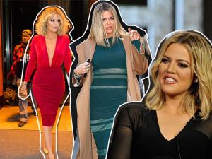 O novo shape e estilo femme fatale de Khloe Kardashian