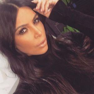 Kim Kardashian revela sua luta contra a balança depois da gravidez