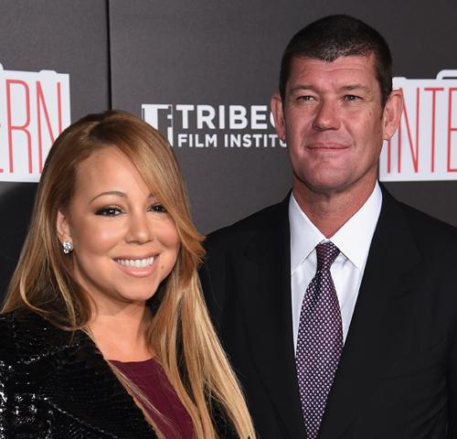 Mariah e James: muito amor
