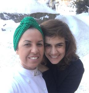 Mariana Aydar e Morena Leite levam calor brasileiro a Davos
